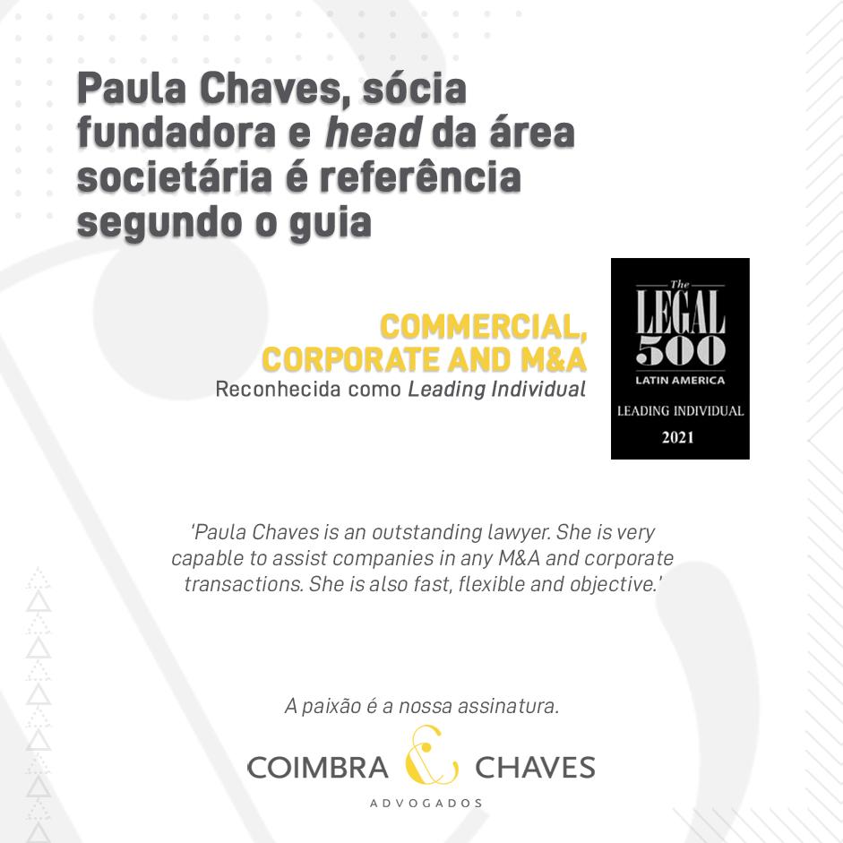 Legal 500 - 2021 Paula
